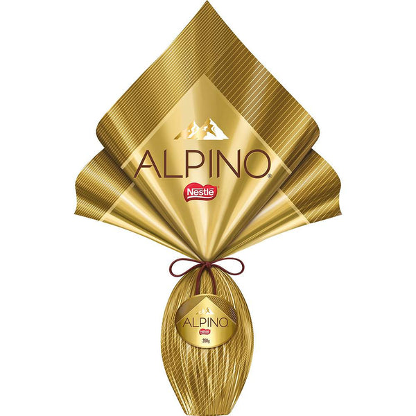 Nestle Alpino Milk Chocolate Easter Egg 11.9oz - Ovo de Páscoa Alpino ao Leite 337g