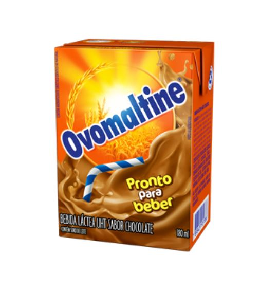 Ovomaltine Chocolate Flavor Powder in Flakes - Achocolatado com Flocos Crocante 300g