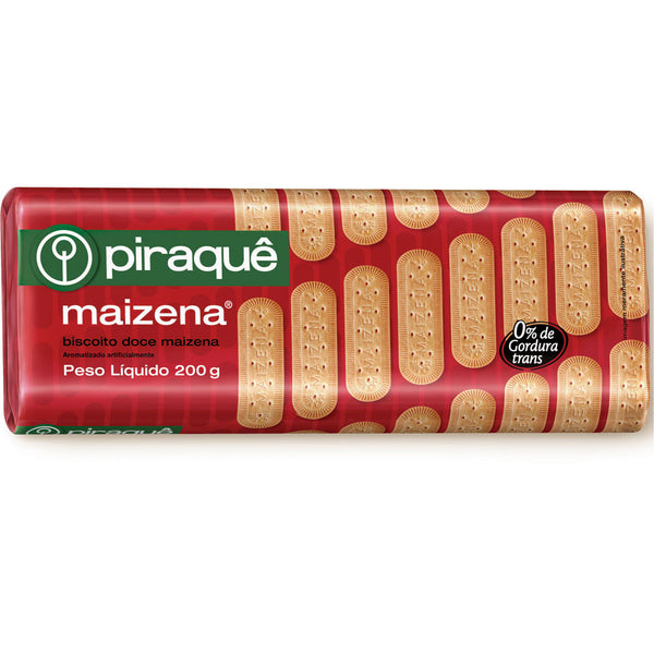 Piraque Starch Biscuit 7.05oz - Biscoito de Maizena 200g