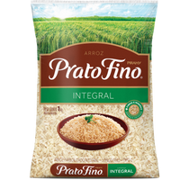 Prato Fino Brown Rice 2.2 lb - Arroz Integral 1 Kg