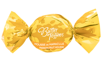 Arcor Butter Toffees Passion Fruit Mousse - Bala Trufada Maracuja Bag