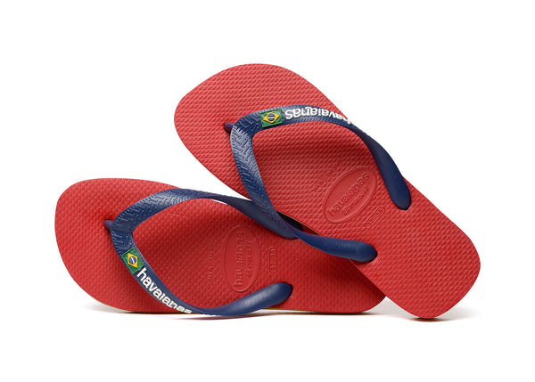 Havaianas Brazil Red / Navy Blue