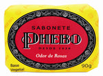 Phebo Bath Soap Rose Flower 90g - Sabonete Odor de Rosas
