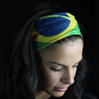 Bandana / Face Shield Brazil Flag - Bandana / Face Shield Brasil
