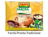 Amafil Seasoned Cassava Flour - Farofa Pronta Temperada