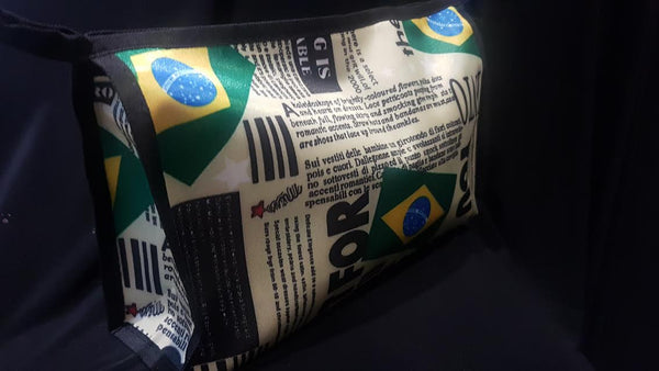 Toiletry Brazil Pattern Bag - Necessaire Brasil