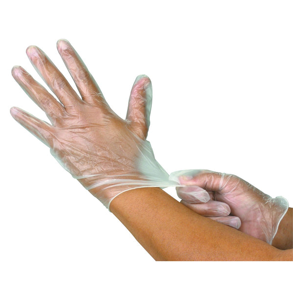 Disposable Vinyl Gloves 100 per case