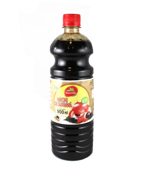 Doce Vida Guarana Extract - Xarope de Guarana 900ml