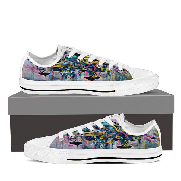 "Volkswagen Vans-Women's Low Top-""Off the wall"""