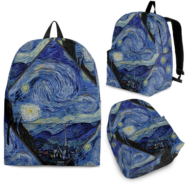 Vincent Van Gogh Backpack.