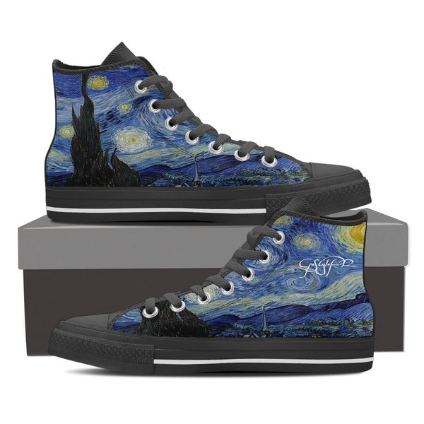 "Van Gogh-The Starry Night-Men's-""You could find the start in a starry night"""