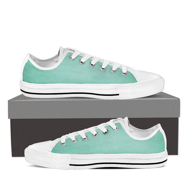 "Mint Ice-Men's Low Top-""Just feel relax...you only live once"""
