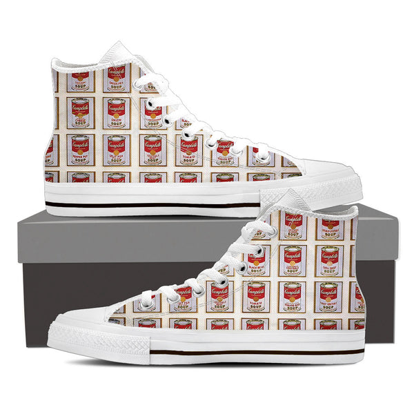 "Campbell's-Men's High Top-""Feel the taste of Campbell's with style"""