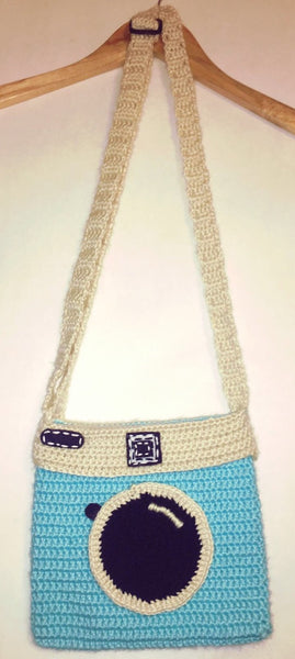 Cartera Instagram Azul