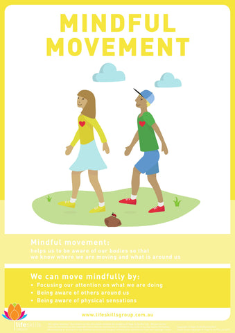 Mindful Movement Poster