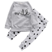 Milk Dot Clothing Set