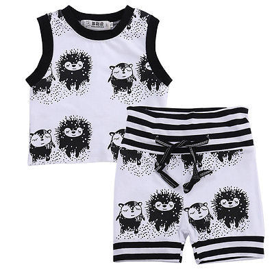 Cute Hedgehog Clothing Set