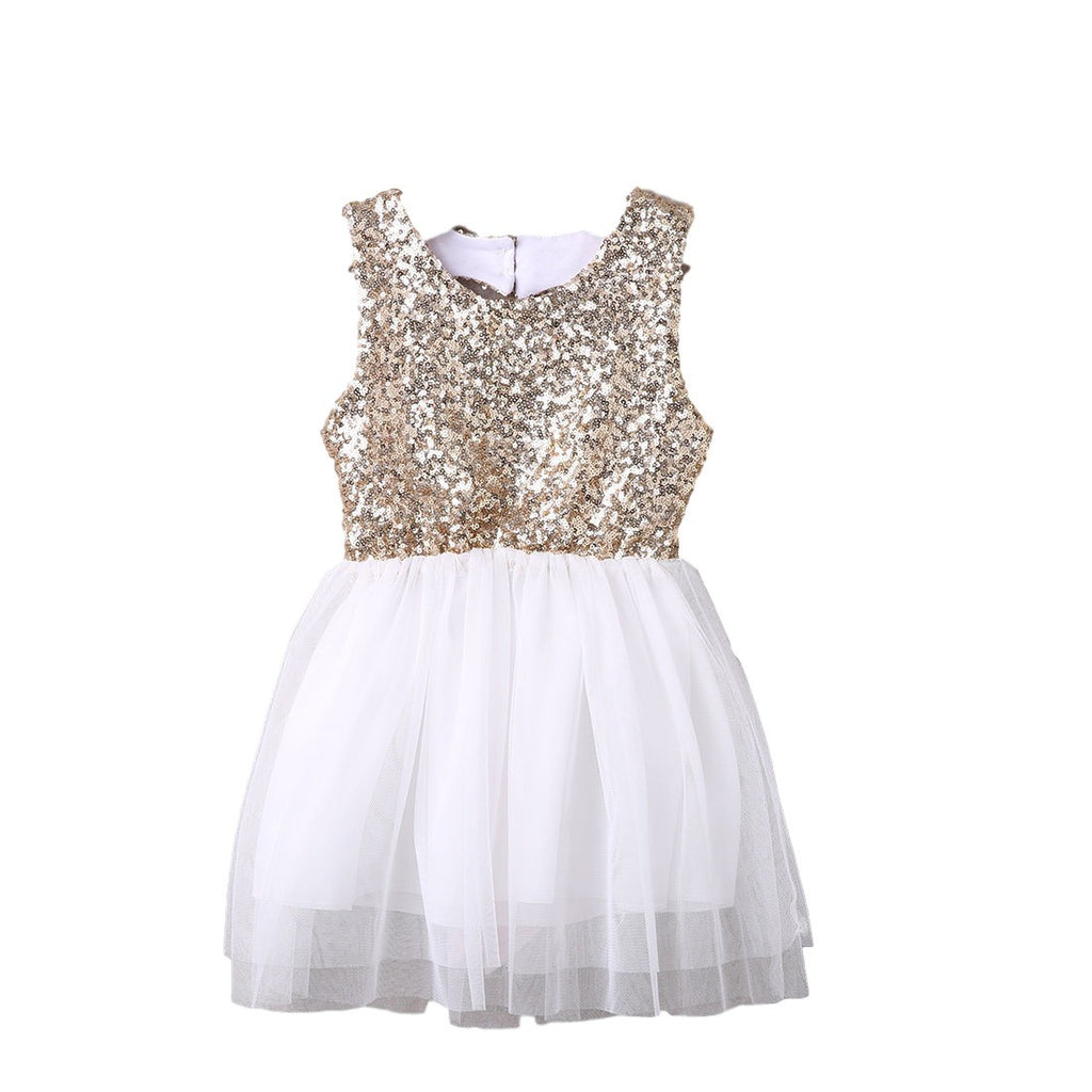 Girl Sequin Party Dress