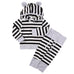 Baby Striped Hoodie Clothing Set