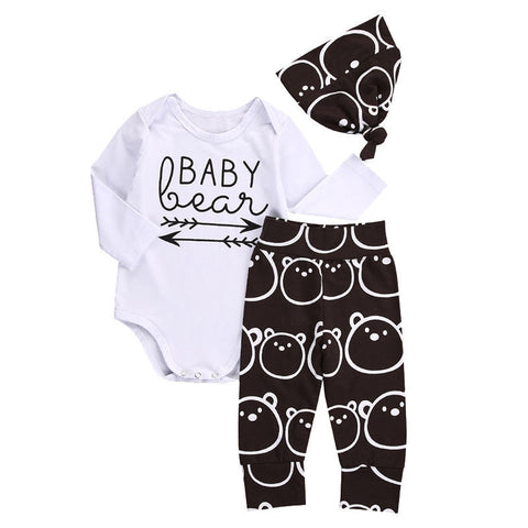 Baby Bear 3pcs Clothing Set