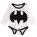 Batman Black and White Bodysuit