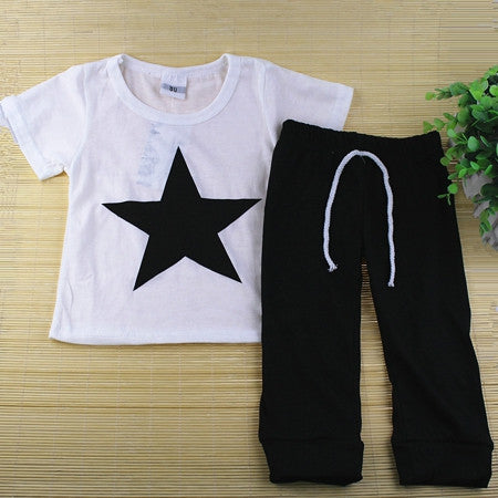 Black Star Clothing Set