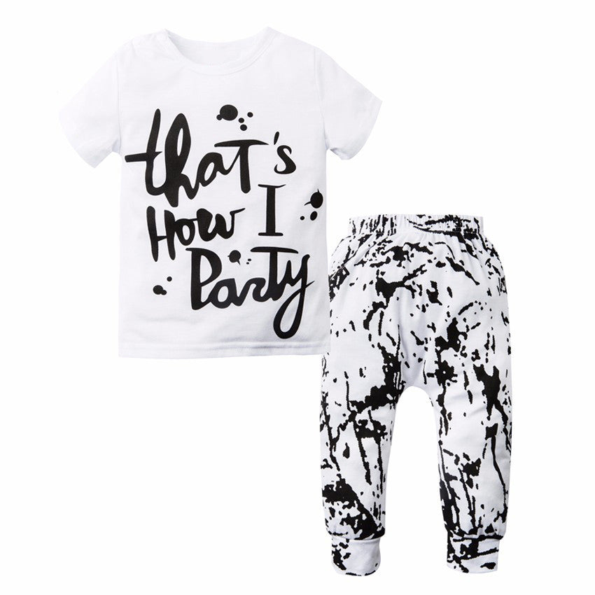 That's How I Party Clothing Set