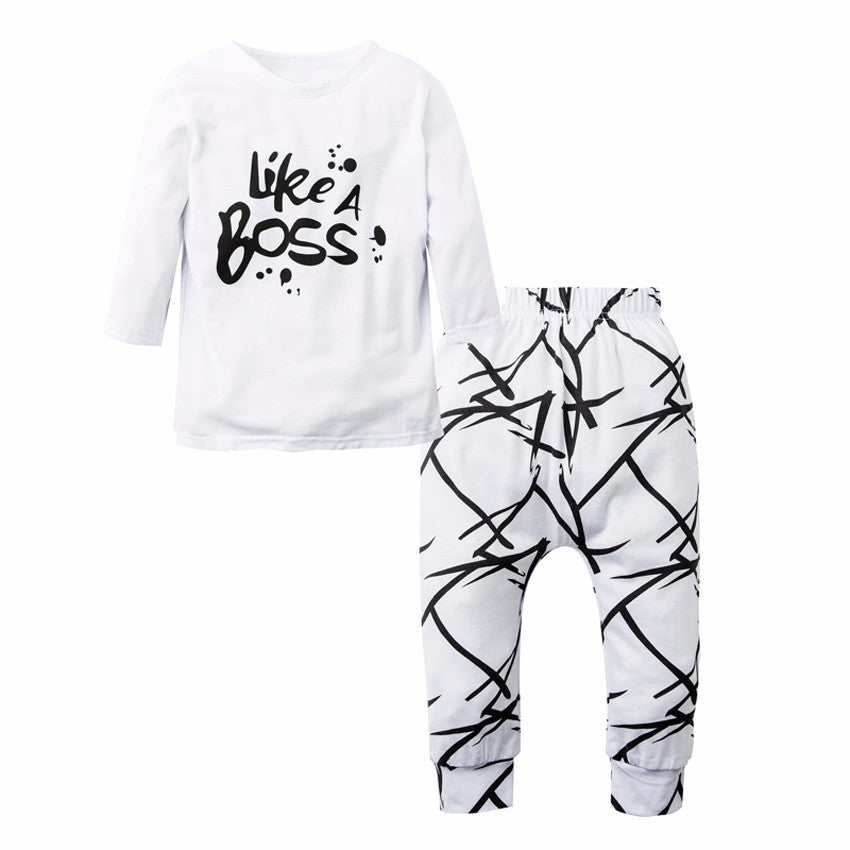 Like A Boss Clothing Set