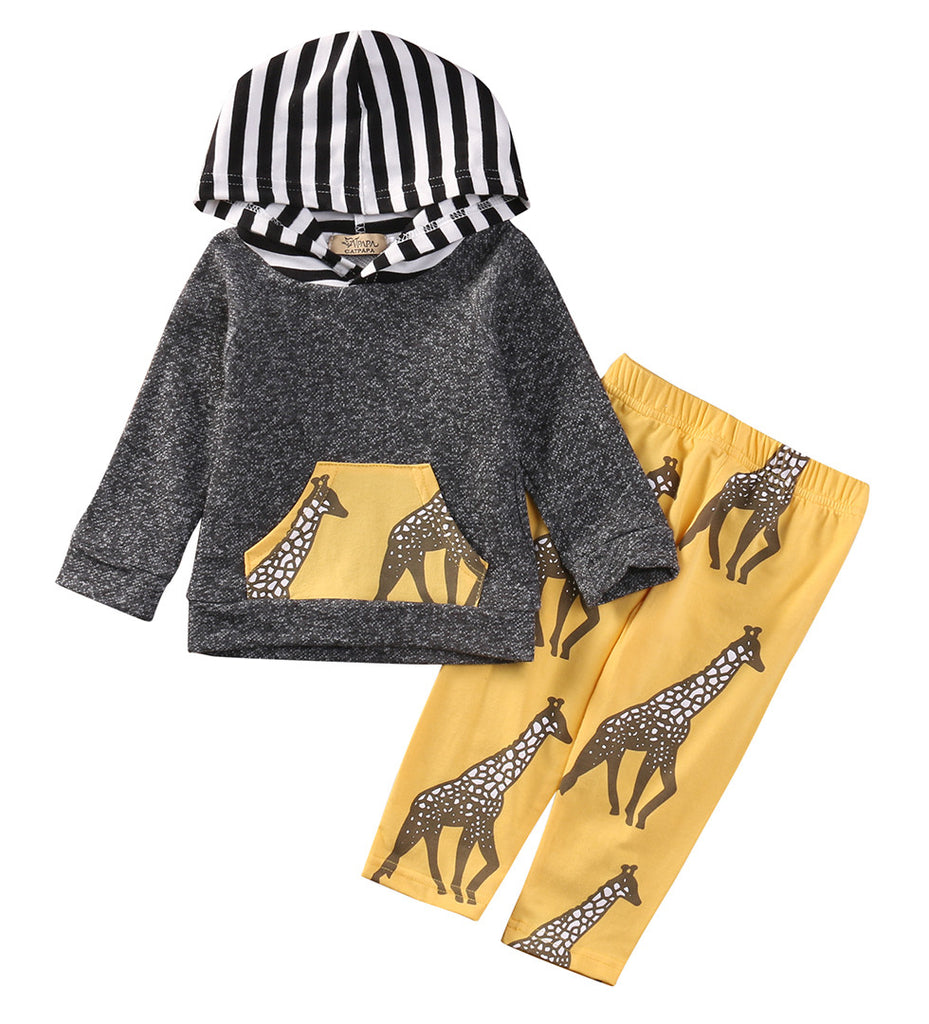 Giraffe Clothing Set