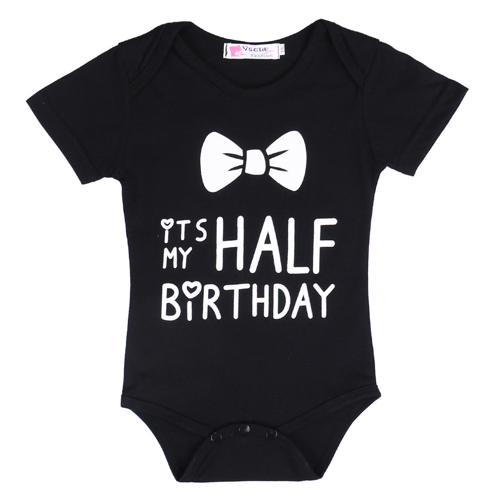 Half Birthday Bodysuit