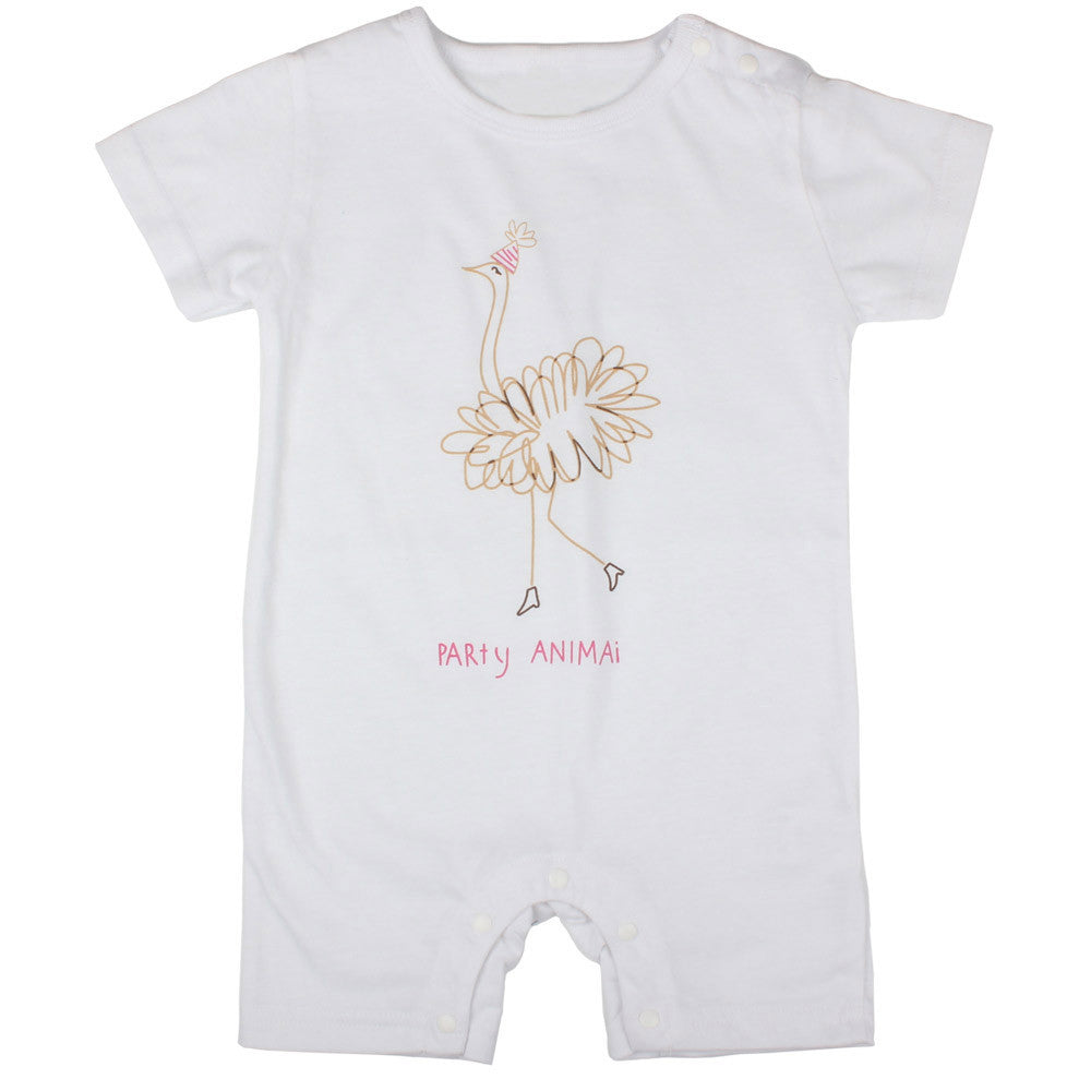 Party Animal Baby Romper
