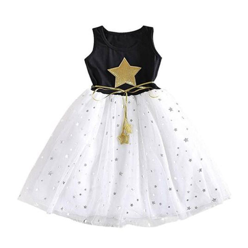 Girls Star Dress