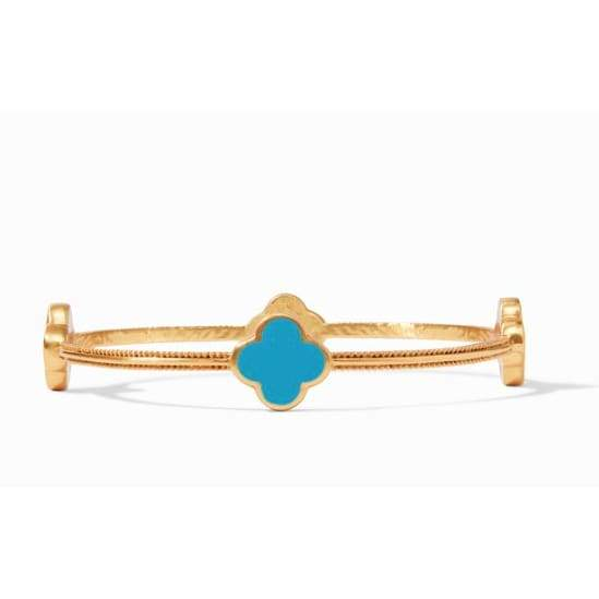 CHLOE BANGLE - PACIFIC BLUE - The Navy Knot
