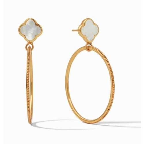 CHLOE CIRIQUE EARRING - MOTHER OF PEARL - The Navy Knot
