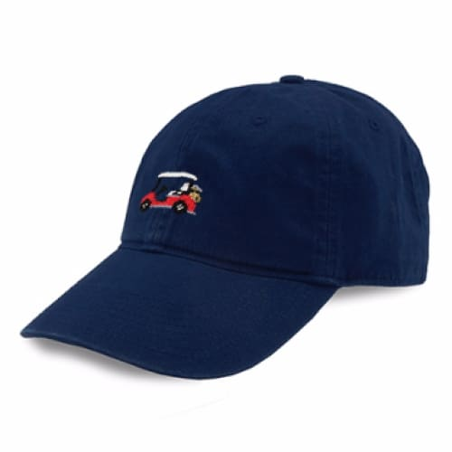 GOLF CART NEEDLEPOINT HAT - The Navy Knot