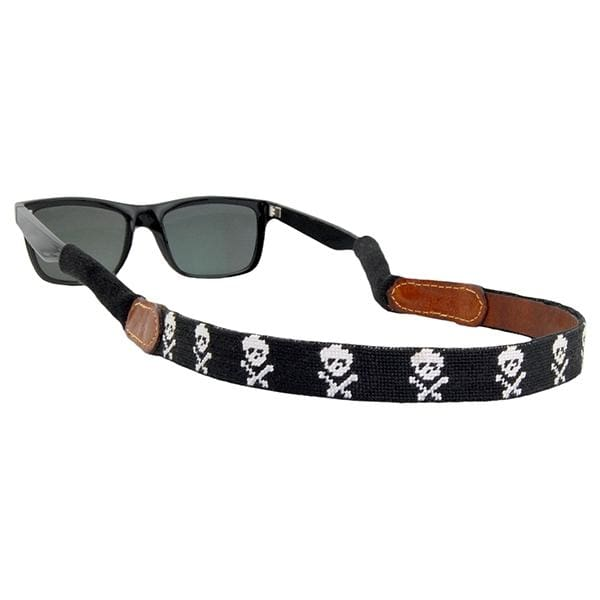 JOLLY ROGER NEEDLEPOINT SUNGLASS STRAPS - Hat