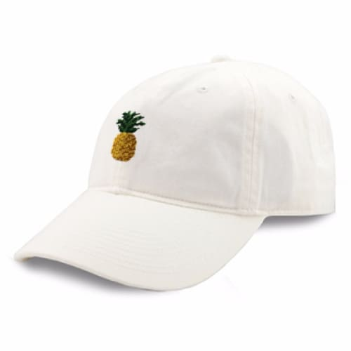 PINEAPPLE NEEDLEPOINT HAT - The Navy Knot