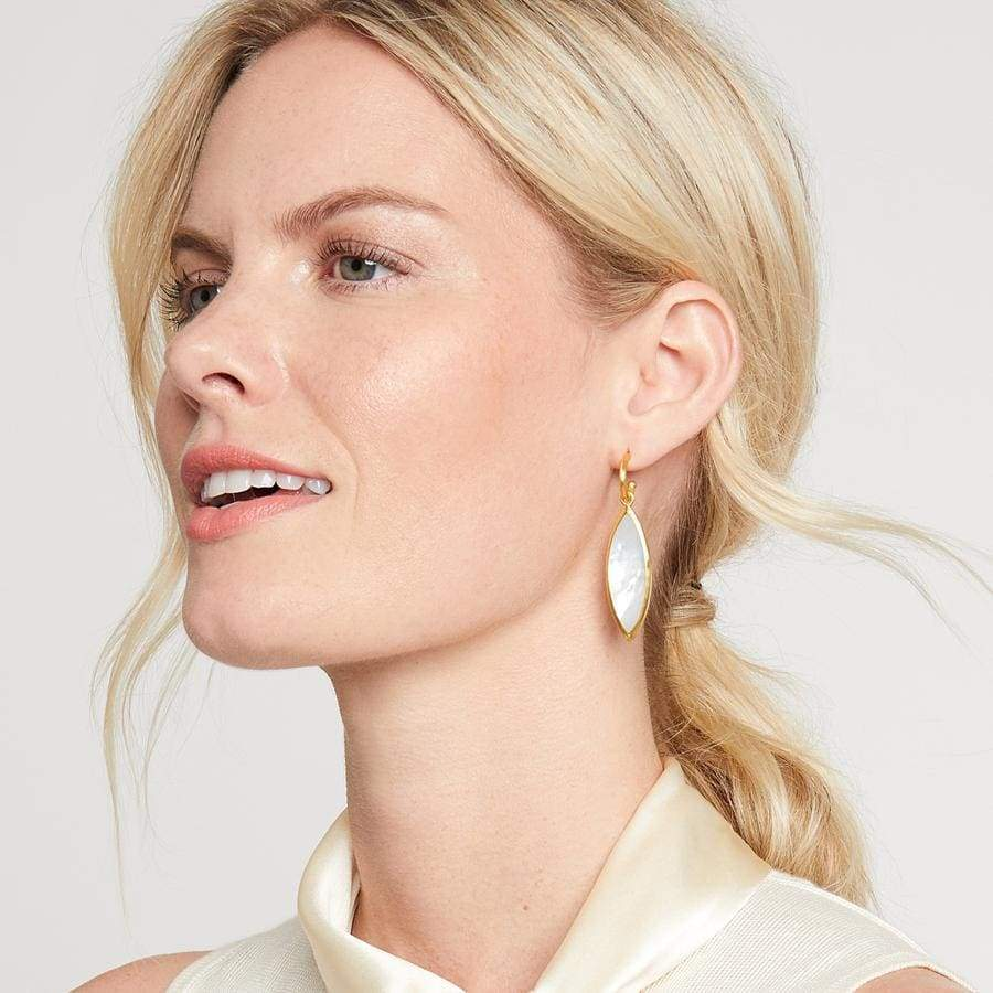 VENUS STATEMENT EARRING - The Navy Knot