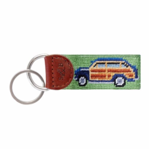 WOODY NEEDLEPOINT KEY FOB - The Navy Knot