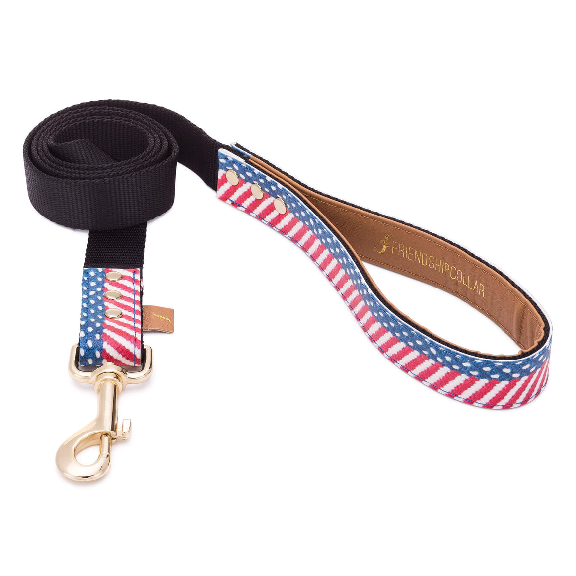 Red, White & Blue Presidential Friendship Dog Leash