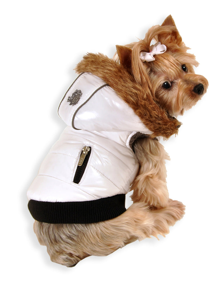 White Elite Reflective Vest for Dogs 04bc7cff7