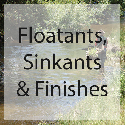 Fly Fly Fishing Floatant, Sinkant & Finishes