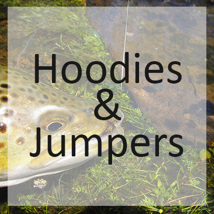 Fly Fishing Hoodies and Jumpers
