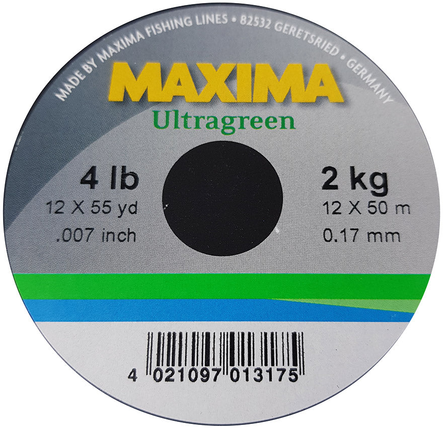 Maxima Ultragreen matt finish tippet Australia