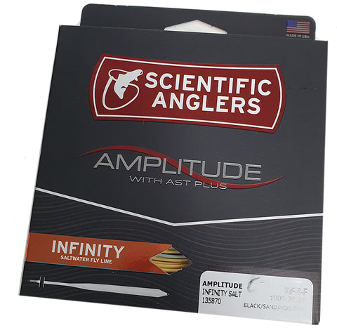 Scientific Anglers Amplitude Infinity Salt Textured saltwater fly line Australia
