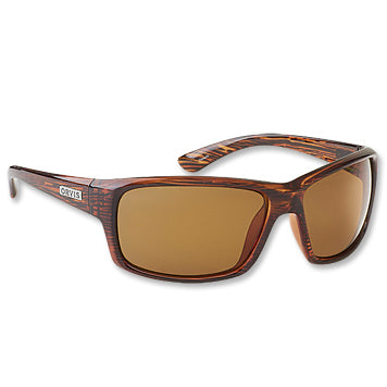 Orvis Superlight Backwater Amber Lens-Brown Stripe Frame Sunglasses Australia