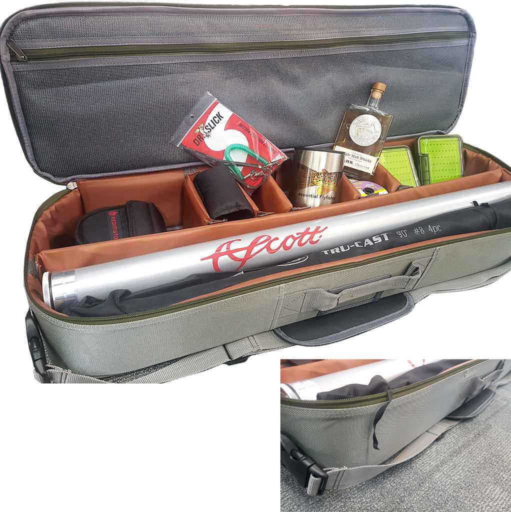 Halford Carryall Fly Rod and reel bag Australia