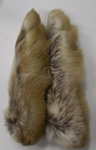 Snowshoe Rabbit Feet Natural White - Wapsi Australia