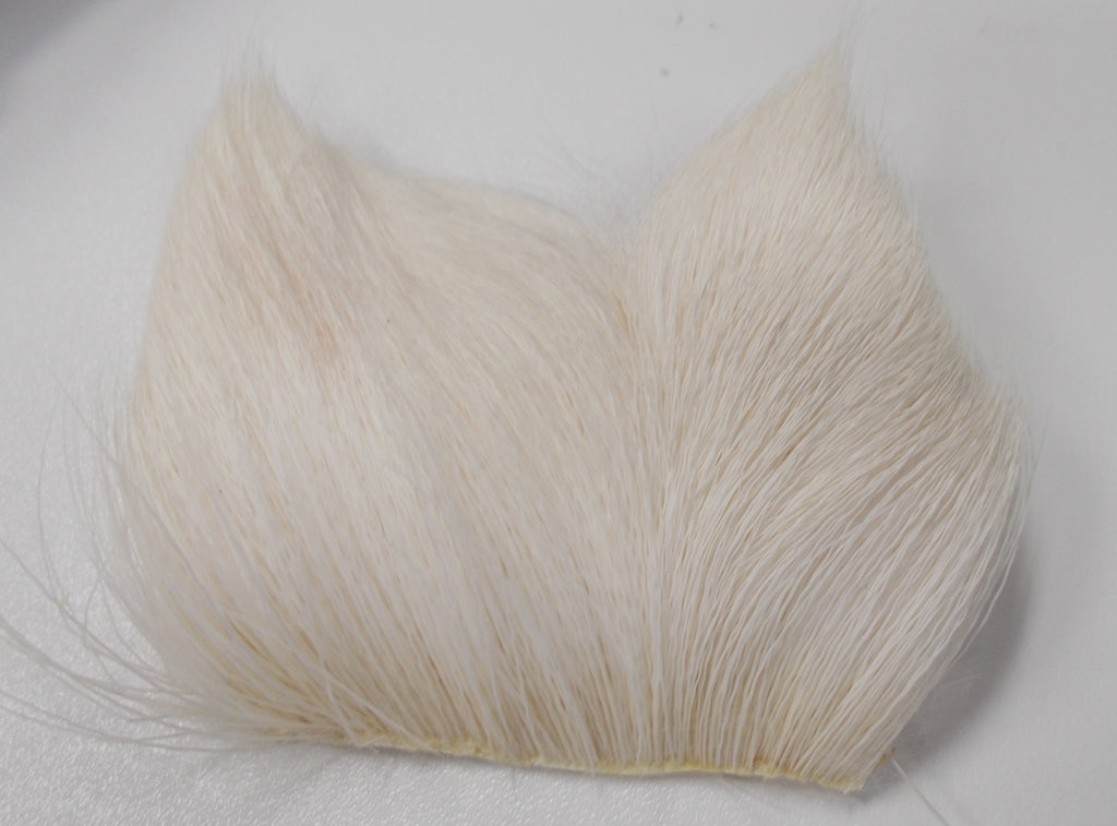 Deer Belly Hair white - Wapsi Australia