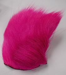Deer Belly Hair FL cerise - Wapsi Australia